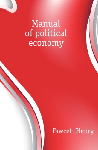 book Manual of political economy