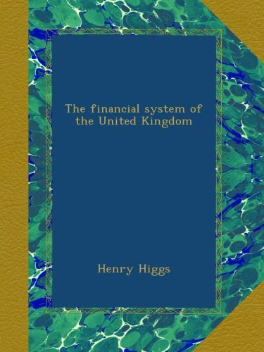 book The financial system of the United Kingdom