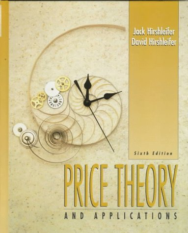 book Price Theory and Applications (6th Edition)