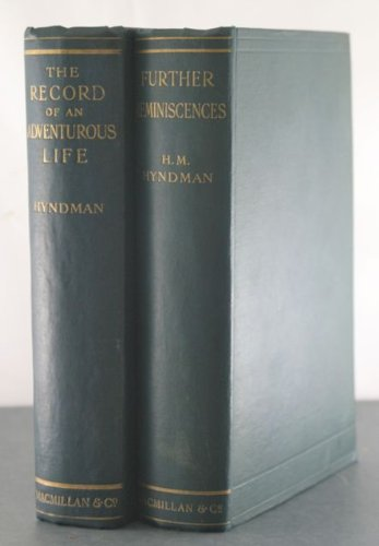 book The Record of an Adventurous Life + Further Reminiscences [Two Volumes]