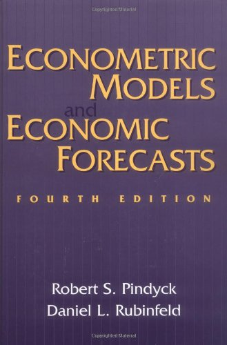book Econometric Models and Economic Forecasts