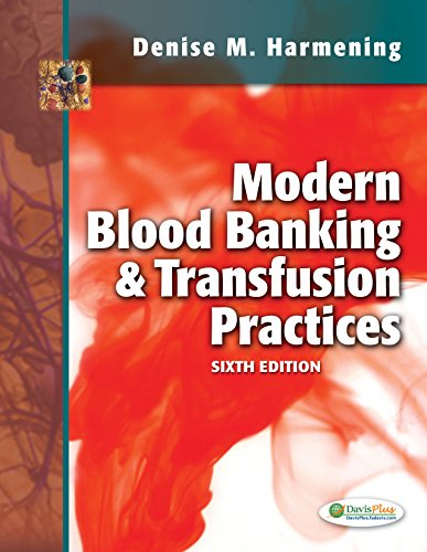 book Modern Blood Banking & Transfusion Practices