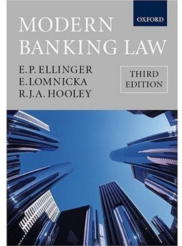 book Modern Banking Law