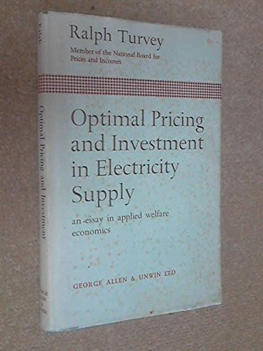 book Optimal Pricing and Investment in Electricity Supply