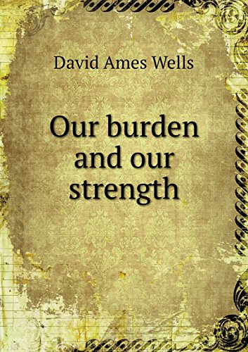 book Our burden and our strength