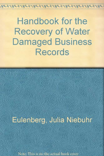book Handbook for the Recovery of Water Damaged Business Records
