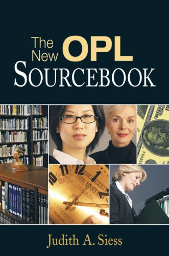 book The New Opl Sourcebook: A Guide for Solo And Small Libraries