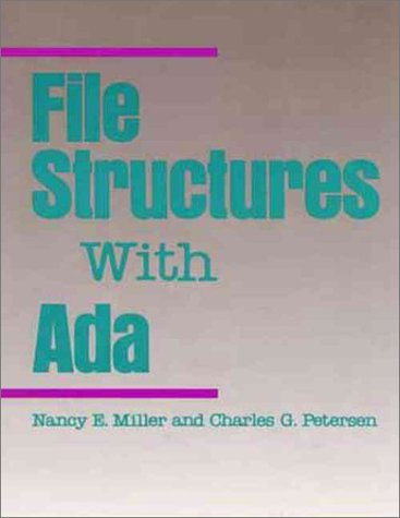 book File Structures With Ada (Benjamin Cummings Series in Computer Science)