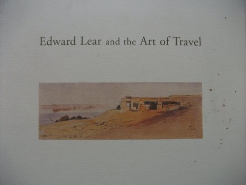 book Edward Lear and the Art of Travel (Yale Center for British Art) by Wilcox, Scott (2000) Paperback