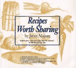 book Recipes Worth Sharing