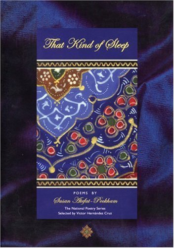book That Kind of Sleep (National Poetry Series) by Atefat Peckham, Susan (2001) Paperback