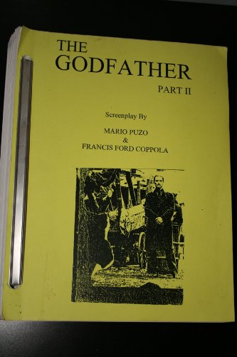 book THE GODFATHER PART ( 2 ) II THE SCREENPLAY