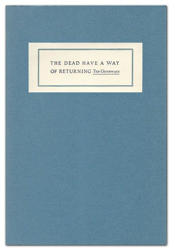 book The Dead Have a Way of Returning