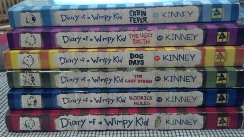 book Diary of a Wimpy Kid \/ Rodrick Rules \/ The Last Straw \/ Dog Days \/ The Ugly Truth & Cabin Fever (6 Vols.)