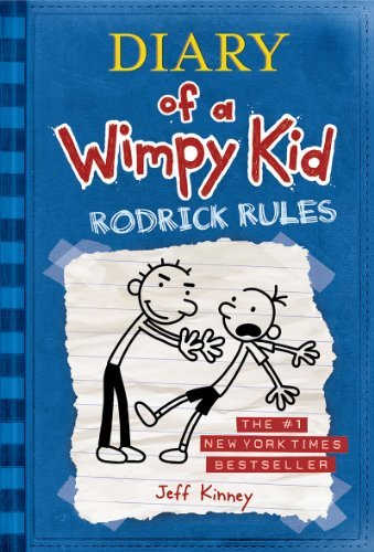 book Rodrick Rules (Diary of a Wimpy Kid, Book 2) [Hardcover] [2008] Jeff Kinney