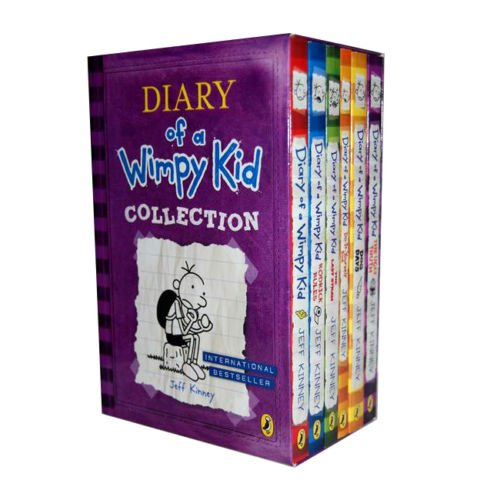 book Diary of Wimpy Kid 6 Books Box Set Collection (The Ugly Truth, Dog Days, Do-it-yourself Book, Diary of a Wimpy Kid, Rodrick Rules, the Last Straw)