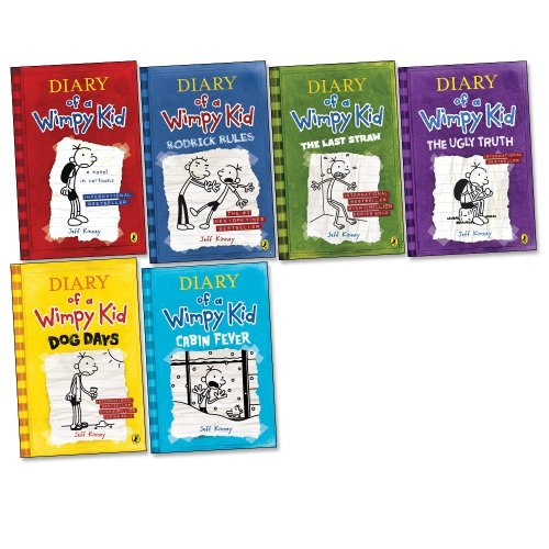 book Diary of a Wimpy Kid Pack, 6 books, RRP \u00C2\u00A341.94 (Diary Of A Wimpy Kid; Diary Of A Wimpy Kid 2; Dog Days; The Last Straw; The Ugly Truth; Cabin Fever).