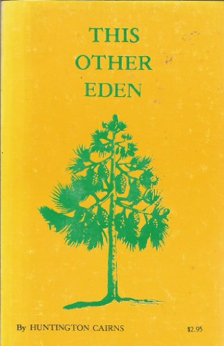 book THIS OTHER EDEN, Aspects of the Natural History of the Outer Banks of North Carolina