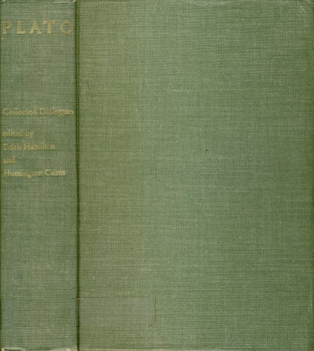 book THE COLLECTED DIALOGUES OF PLATO Including the Letters. with Introduction and Prefatory Notes