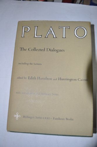 book The Collected Dialogues of Plato Including the Letters
