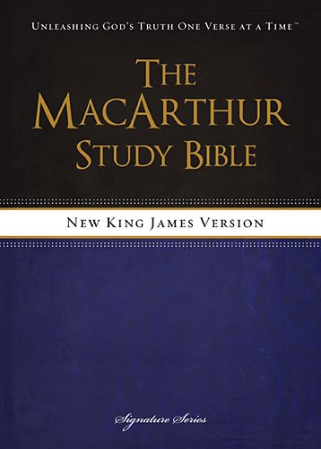 book The MacArthur Study Bible, NKJV: Revised and   Updated Edition