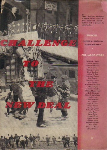 book Challenge to the New Deal