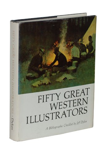 book Fifty Great Western Illustrators: A Bibliographic Checklist [ILLUSTRATED]