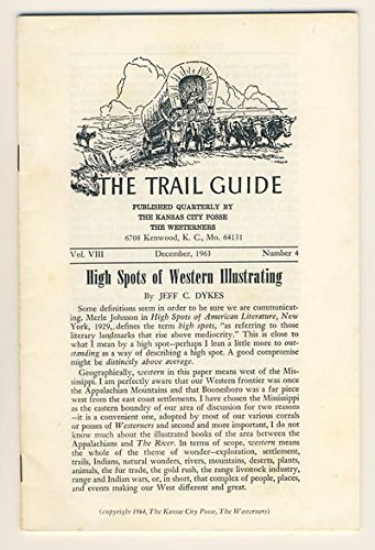 book High Spots of Western Illustrating [The Trail Guide, 12\/1963]