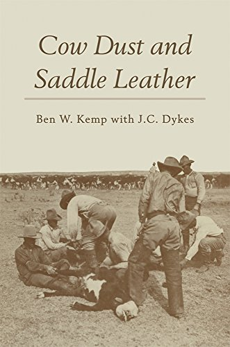 book Cow Dust and Saddle Leather