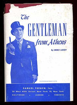 book The Gentleman from Athens: A Play in Three Acts