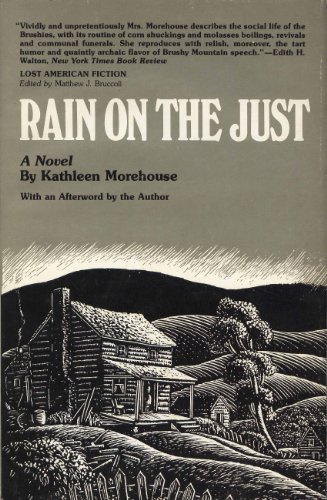 book Rain on the Just (Lost American Fiction)