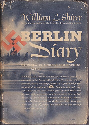 book Berlin Diary, the Journal of a Foreign Correspondent 1934-1941
