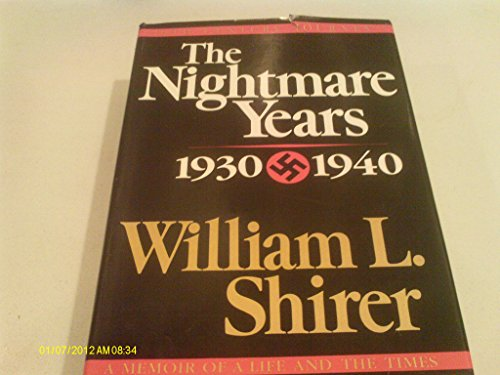 book The Nightmare Years 1930-1940