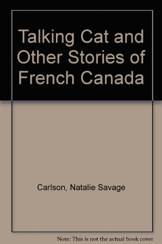 book Talking Cat and Other Stories of French Canada