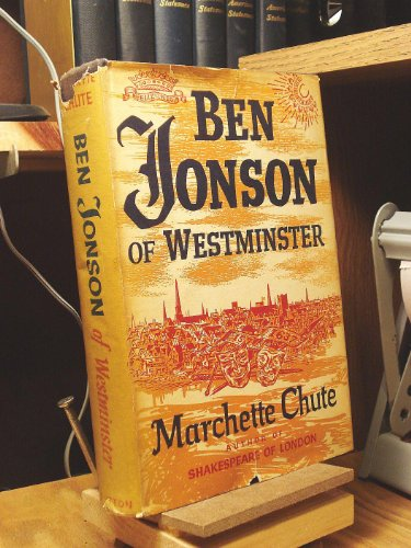 book Ben Jonson at Westminster