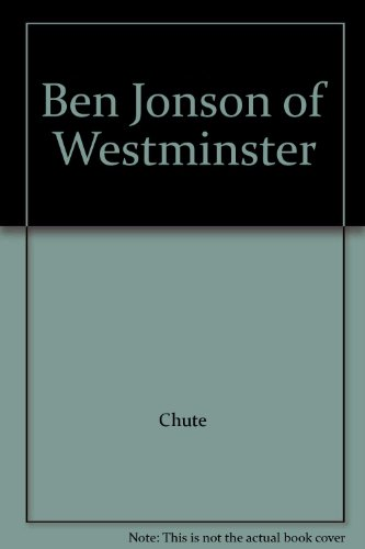 book Ben Jonson of Westminster