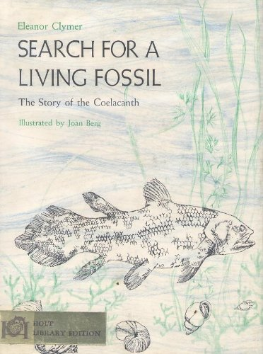 book Search for a living fossil;: The story of the coelacanth