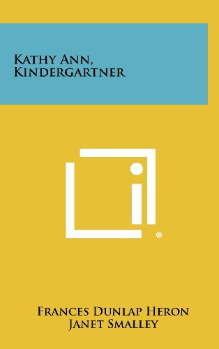 book Kathy Ann, Kindergartner