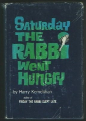 book Saturday The Rabbi Went Hungry