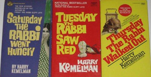 book 3 Rabbi David Small Mysteries By Harry Kemelman: \