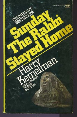 book Sunday the Rabbi Stayed Home