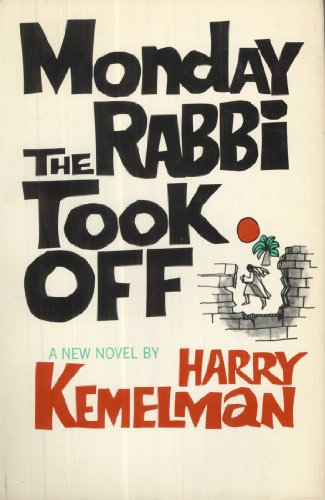book Monday the Rabbi Took Off