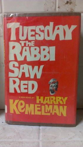 book Tuesday the Rabbi saw Red