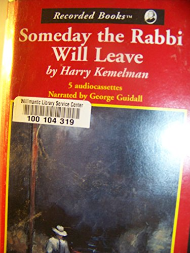 book Someday the Rabbi Will Leave (Rabbi David Small Series Vol. 8)