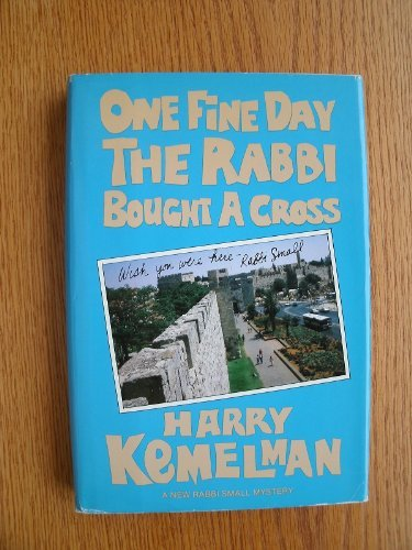 book One Fine Day the Rabbi Bought a Cross