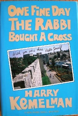 book One Fine Day Rabbi Bought a Cross