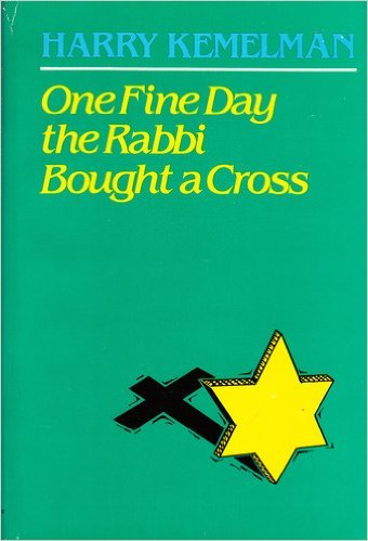 book ONE FINE DAY THE RABBI BOUGHT A CROSS -- BARGAIN BOOK
