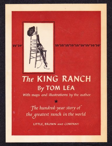 book The King Ranch Tom Lea 2 Vols First Edition 1957