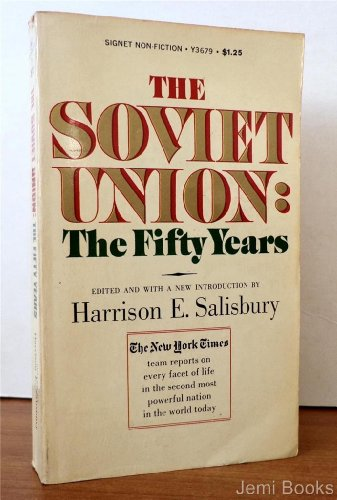 book The Soviet Union: The Fifty Years (Signet Non-Fiction, Y3679)