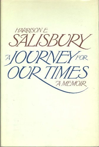 book A Journey for Our Times: A Memoir